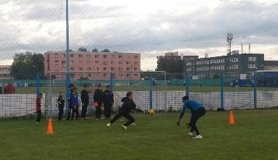 Training goalkeepers!! Celta style!!!
